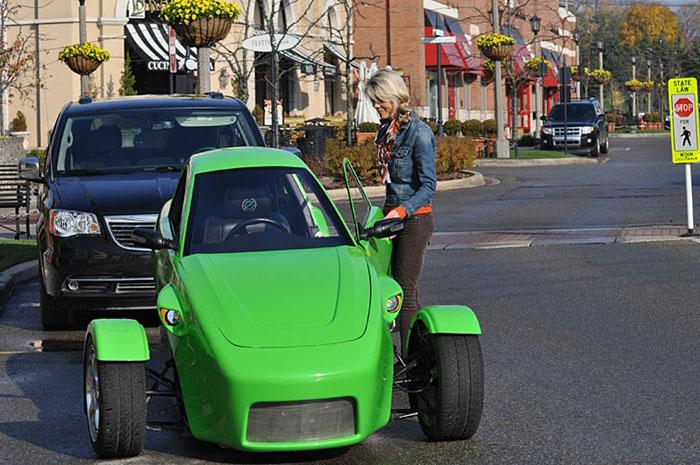 авто, elio motors, трицикл,