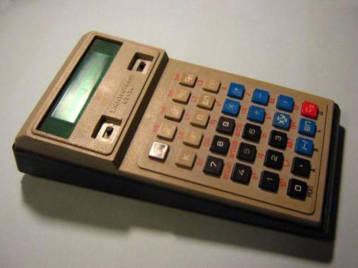 калькулятор, гаджет, ссср