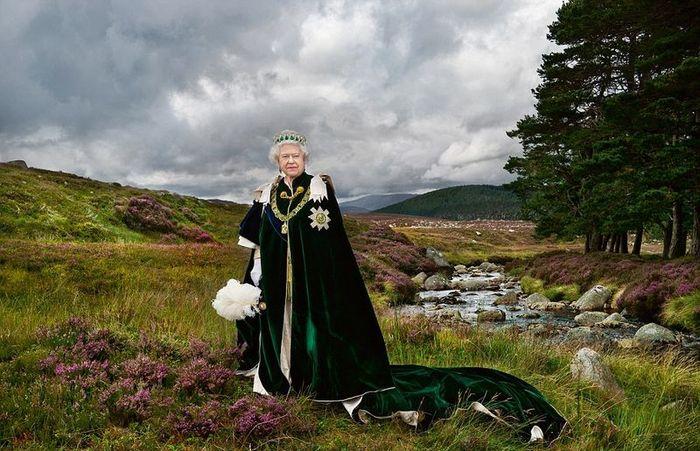 королева, портрет