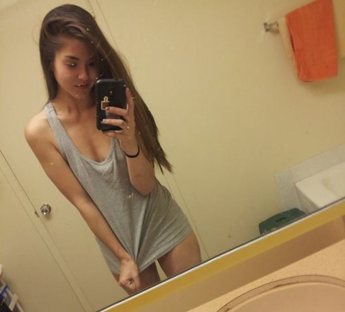 Teenage girls self photos 1