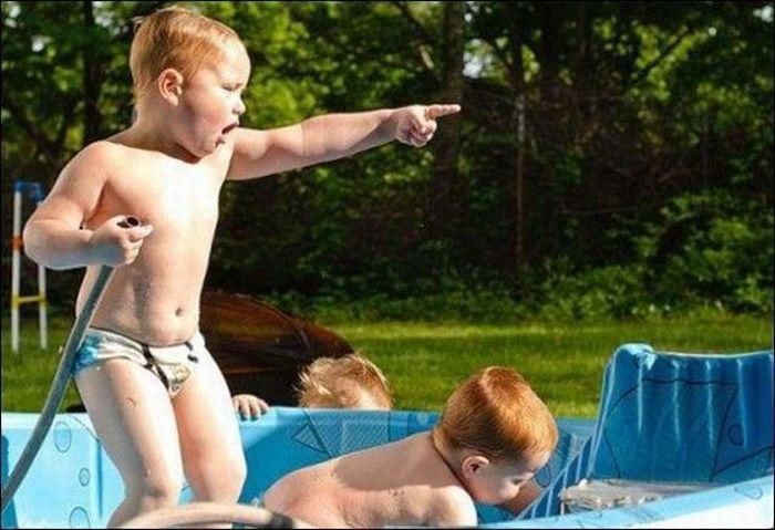 Улетное фото дети, палец, ребенок, указывает