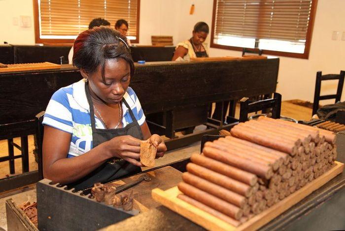 сигары, производство, фабрика
