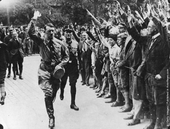 гитлер, фашист, молодость