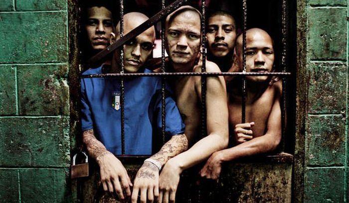 банды, преступники, тюрьма, сальвадор,
