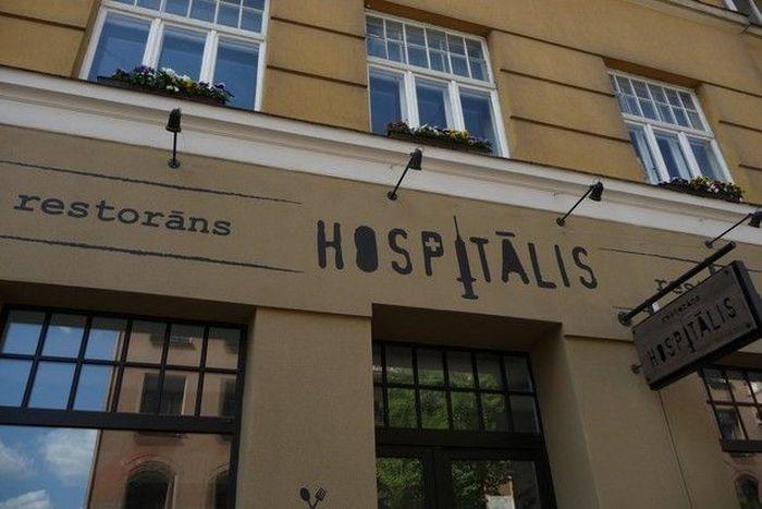 госпиталь, ресторан, рига, больница