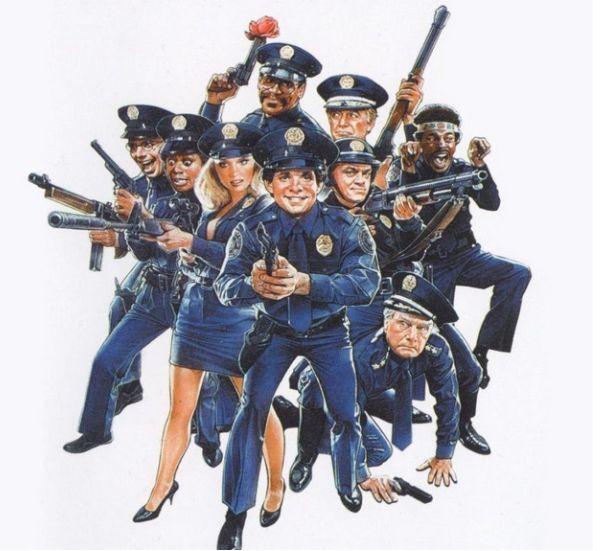 полицейская академия, спустя, фильм