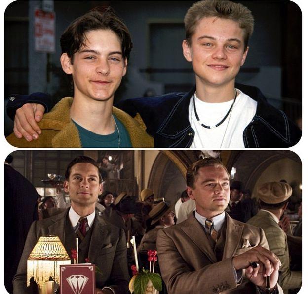 Прикол картинка друзья, знаменитости, тогда и сейчас