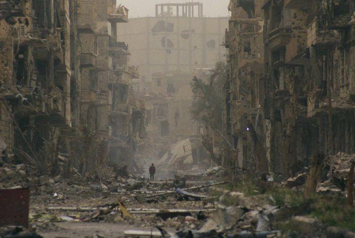 Порция жестких снимков войны в сирии