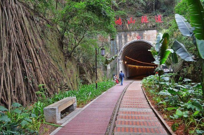 китай, тоннель, заброшенный