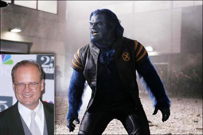 Келси Граммер (Kelsey Grammer) сыграл Хэнка Маккоя, синемордого мутанта по кличке Зверь в фильме Люди-Икс 3: Последняя битва/X-Men 3: The Last Stand.