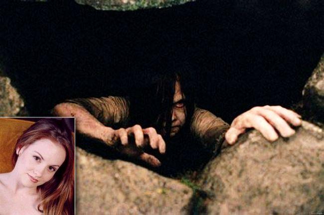 Очаровашка Келли Стейблс (Kelly Stables) сыграла роль Самары Морган, той самой мерзости, что вылезала из экранов телевизоров, в фильмах Звонок и Звонок 2 (The Ring).