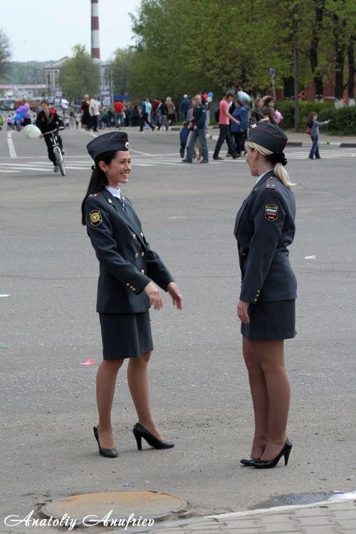 Милиционеры в юбке
