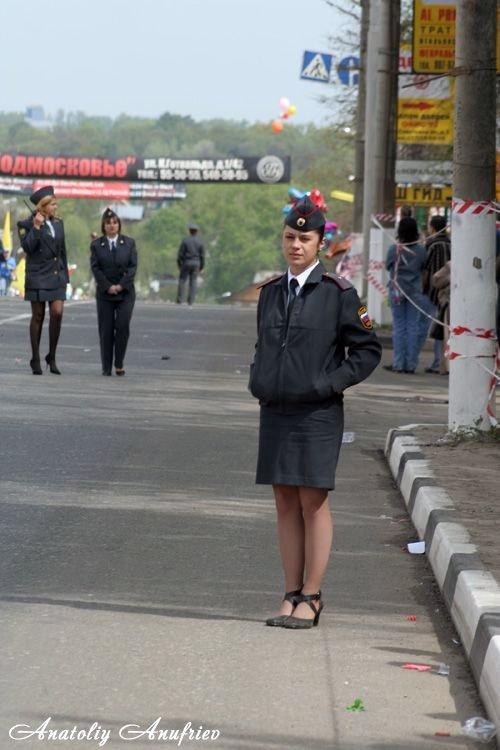 фото девушки милиции в юбках - 4