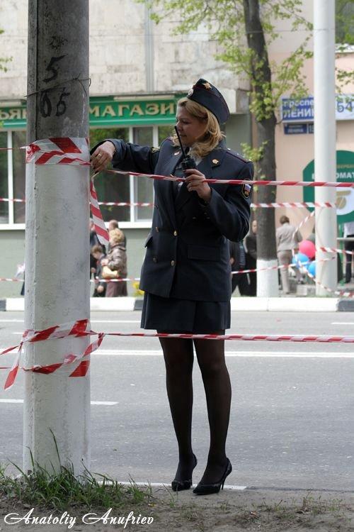фото девушки милиции в юбках - 8