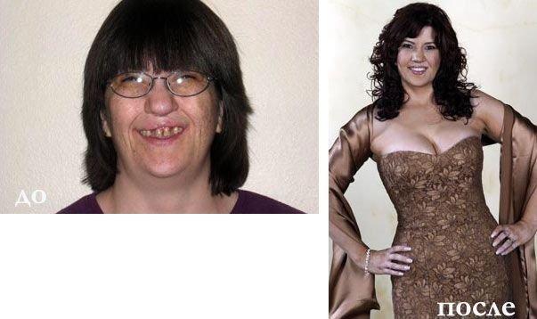 Магические превращения - макияж и фотошоп (10 фото)
