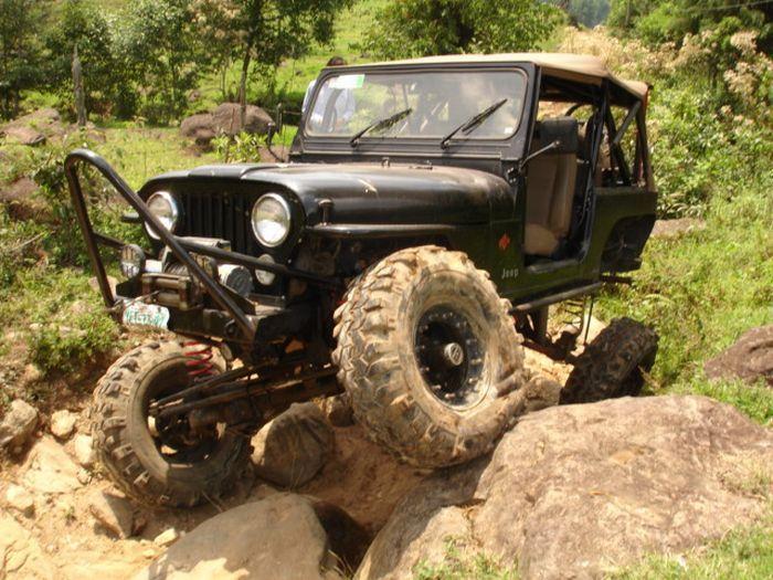 Jeep - вездеход (22 фото)