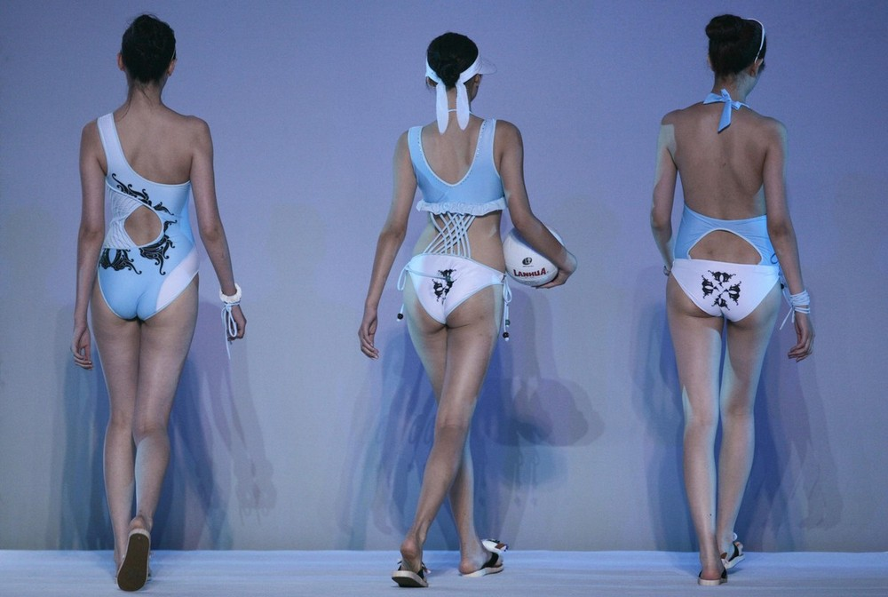 China Swimming Wear Design Contest  (11 фото)