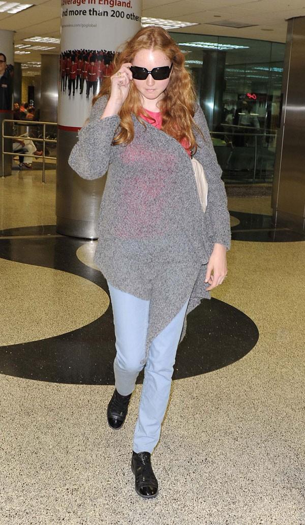 Потолстевшая супермодель Лили Коул (22 фото)