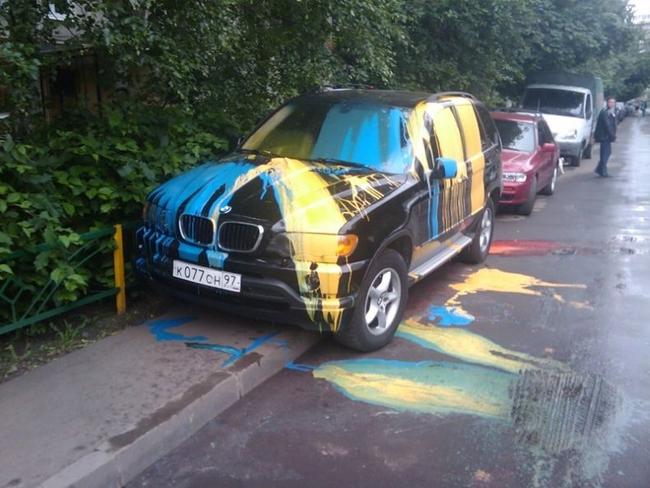 Автомобильная месть (3 фото)