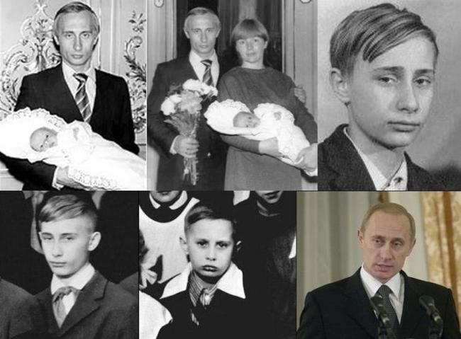 Мировые лидеры в молодости (19 фото)