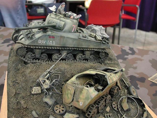 Техника Второй Мировой в миниатюре (63 фото)