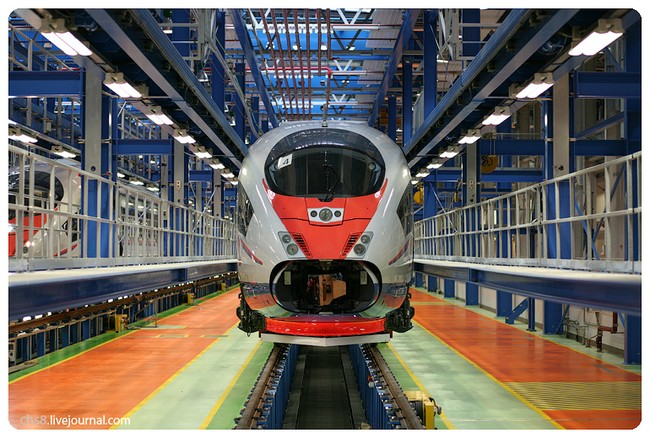 Siemens Velaro RUS Сапсан (17 фото)