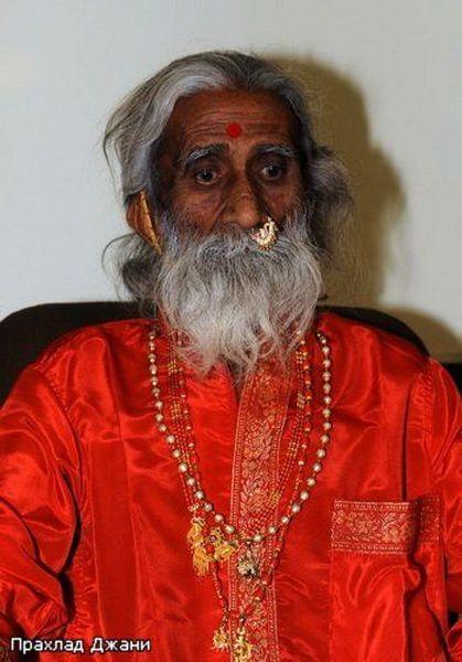 Индийский йог 70 лет живет без воды и пищи (7 фото + текст)