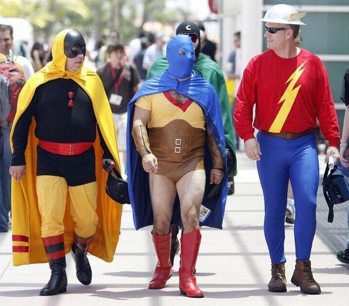 Секс в костюмах супергероев