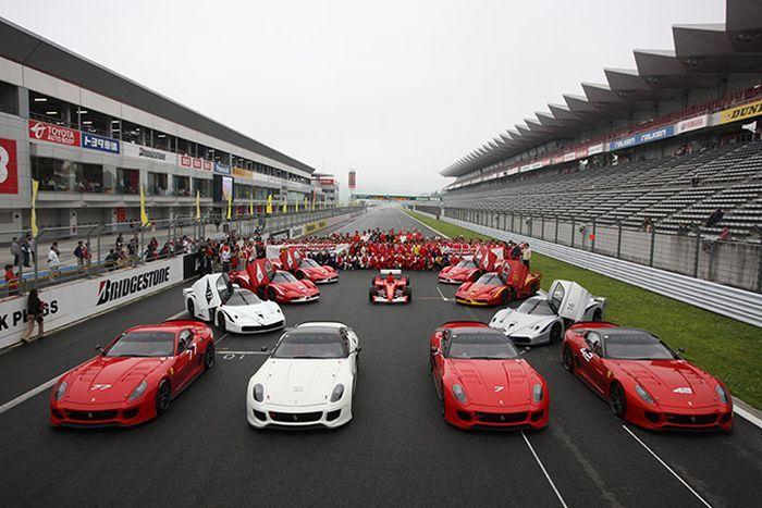 Ferrari Festival 2010 (18 фото)
