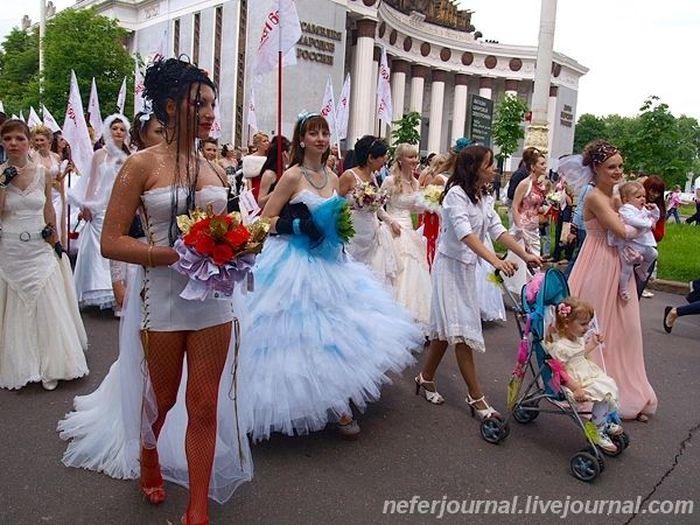 Парад невест (44 фото)