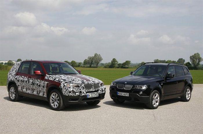 Подробности о новом кроссовере BMW X3 (32 фото)