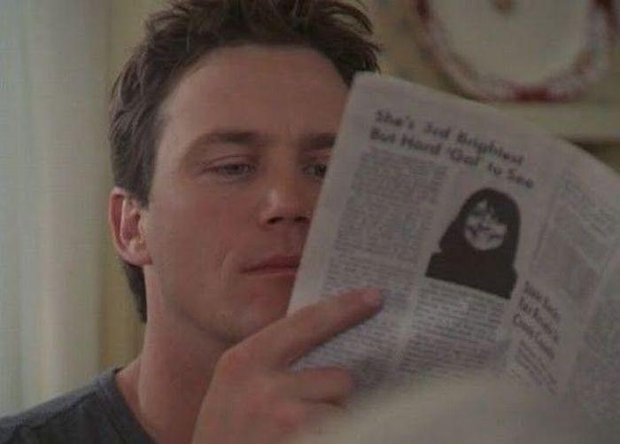 Газета - талисман в Голливуде