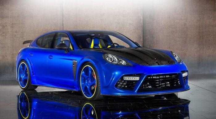 Mansoryn представил новый проект Porsche Panamera Turbo (15 фото)