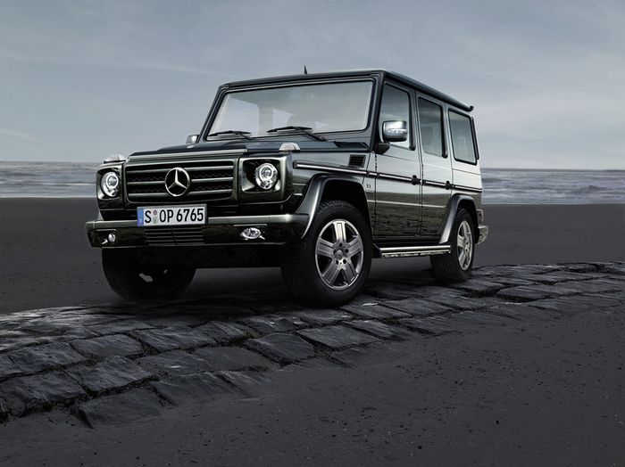 Очередной рестайлинг предстоит Mercedes G-class (11 фото)