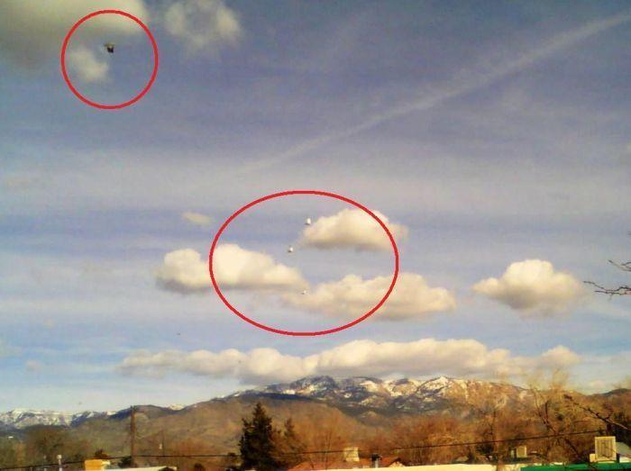 НЛО глазами очевидцев (99 фото)