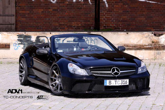 Mercedes SL65 AMG Black Series от TC-Concepts (12 фото)