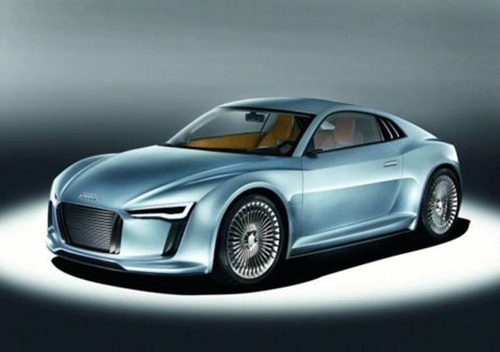 Audi R8 E-Tron готовится к выпуску (3 фото)