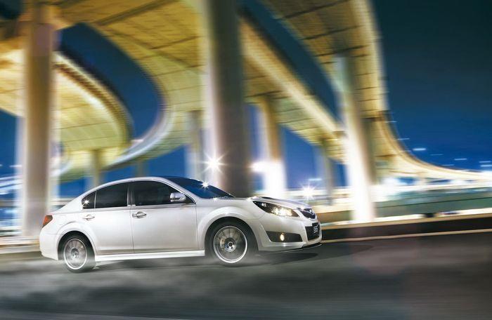Новая Subaru Legacy 2.5GT tS (27 фото)