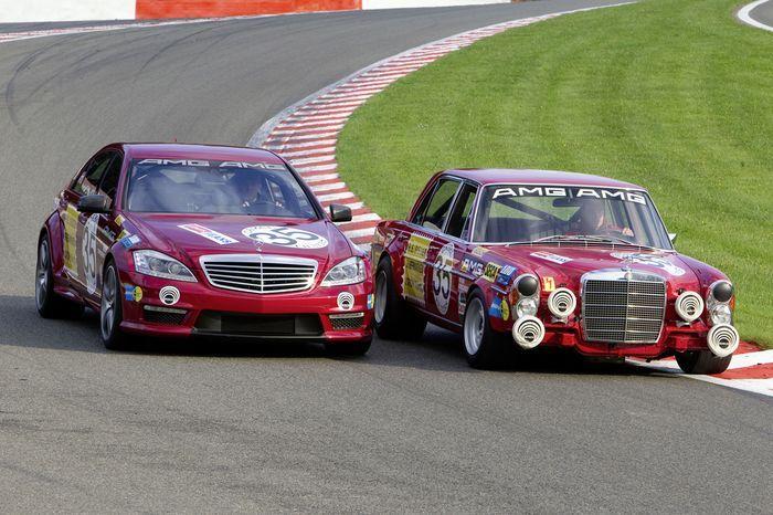 Встреча Mercedes-Benz AMG спустя 39 лет (15 фото)