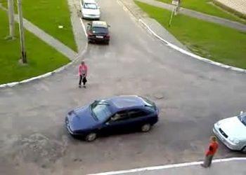 Чудеса параллельной парковки