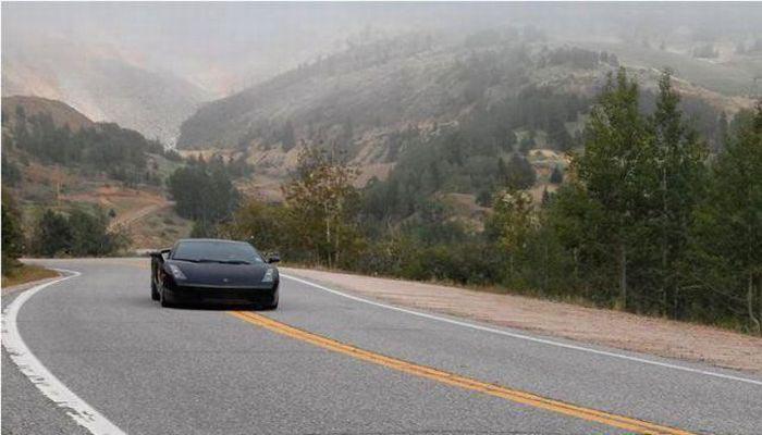 Для путешествия по США на Lamborghini Gallardo американец продал все (23 фото)