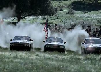 Забавная реклама Dodge Challenger