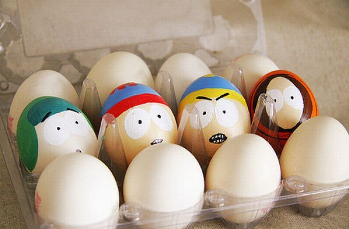 Прикольные рисунки на яйца, юбилей лет совместной
