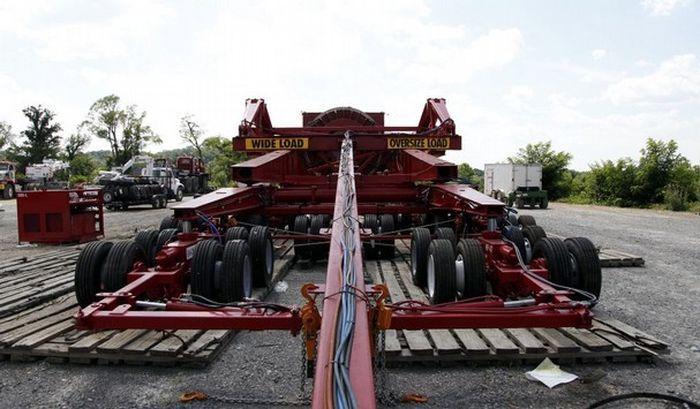Как доставить генератор массой больше 360 тонн? (8 фото)