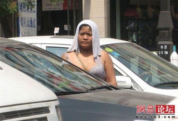 Китайская вымогательница (8 фото)
