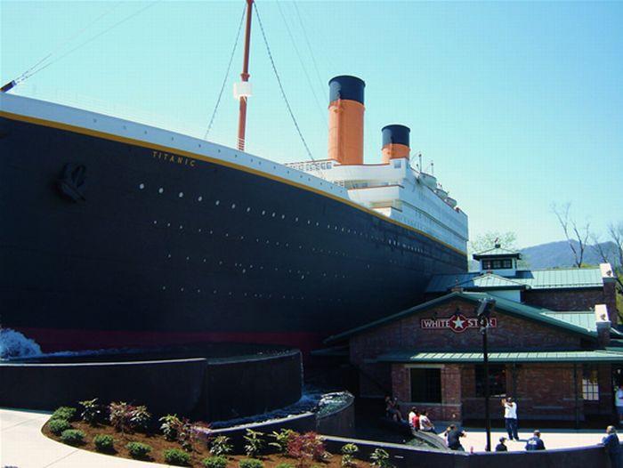 Необычный музей Титаника в США (9 фото)