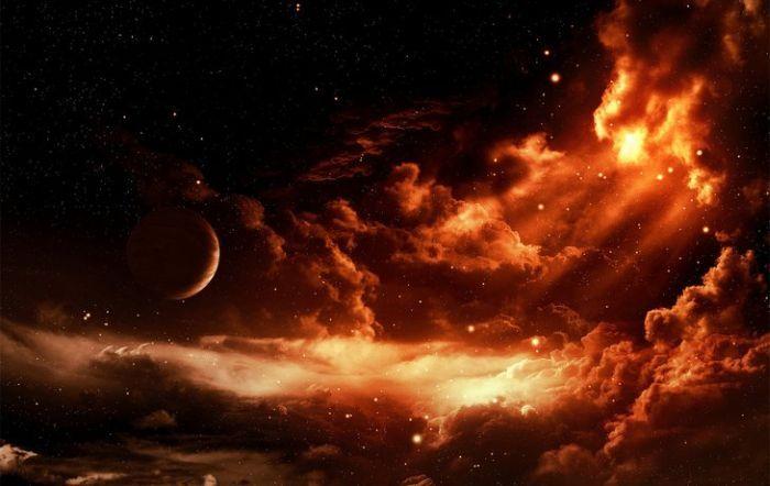 Рисунки космоса (64 фото)