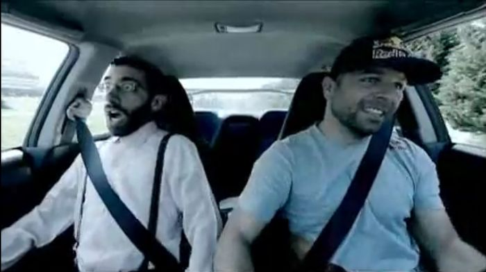 Эмоции пассажиров в Subaru Impreza WRX STI с гонщиком (8 видео)