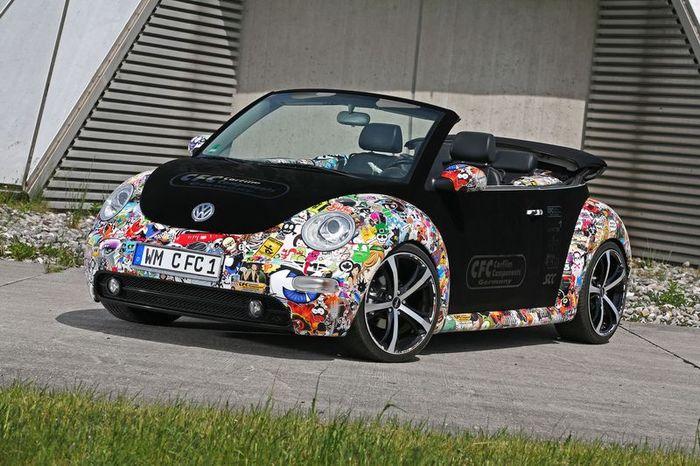 Volkswagen New Beetle от Car Film Components (13 фото)