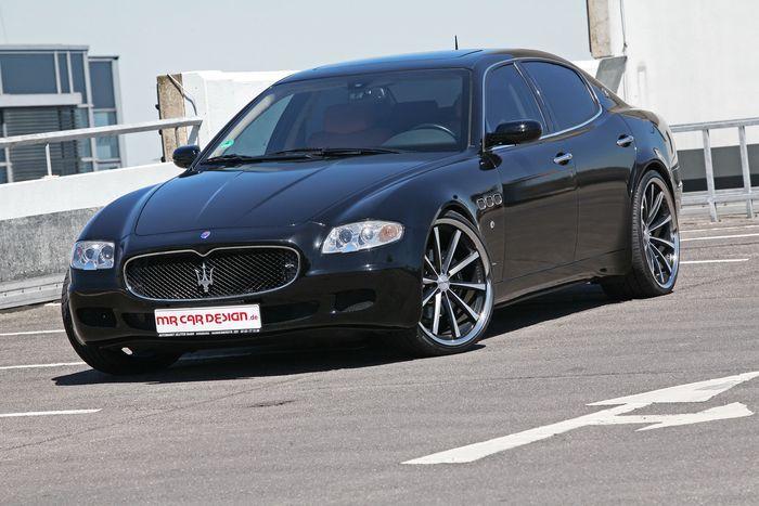 Maserati Quattroporte от ателье MR Car Design (11 фото)
